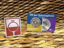COINCARD NEDERLAND 5 EURO 2006 - 200 jaar Belastingdienst zilver.