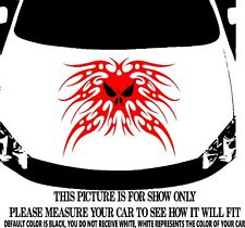 TRIBAL FLAMES PUNISHER  CAR GRAPHIC DECAL VINYL HOOD OR SIDE