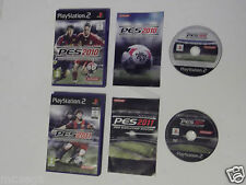 PRO EVOLUTION SOCCER 2010 & PRO EVOLUTION SOCCER 2011 PES10 PES11 PLAYSTATION 2