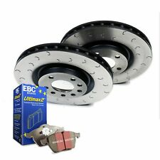 VW Golf Front Brake Discs and EBC Pads 345mm 3.2 MK5 R32 Brake Depot C Hook