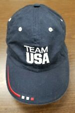 Team USA Olympic hat cap Baseball Strapback Olympic Dark Blue Team Apparel