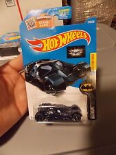 The Dark Knight Batmobile #228 2016 Hot Wheels