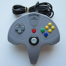 Nintendo 64 SuperPad N64 Performance Video Game Controller Grey Console System