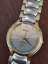 Rado Men's FLORENCE 129.3644.4 Quartz Watch Sapphire Crystal Swiss Pre Owned