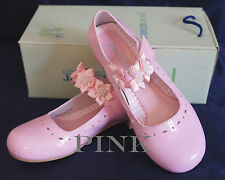 NIB G312 Flower Girl/Party DRESS SHOES PINK Youth Sz 4 Wedding/Formal Event