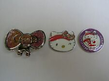 Golf Ball Markers Hatclip HELLO KITTY Sport - Purple