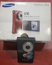 SAMSUNG HMX-U10BP/XEU FlashCAM Videocamera Full HD 10MP USATA FUNZIONANTE