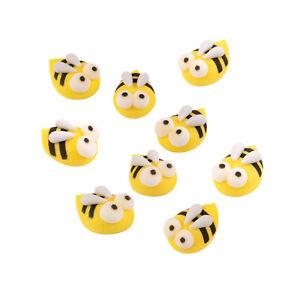 Bienen und Blumen Zucker Frühling Spring Bees Tortendeko Kuchen Cake Flach
