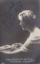 Four signed, printed postcards. ELSIE SOUTHGATE. The Royal Violinist.