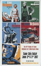 2017 STEVE MCQUEEN Car & Motorcycle Show Promo Card