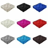SOFT SEAT BOOSTER CUSHION PADS THICK ADULTS CHAIR GARDEN ARMCHAIR 45x45Cm+10 CM