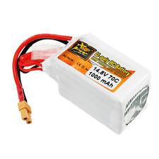 ZOP Power 14.8V 1000mAh 70C 4S Lipo Battery XT30 Plug