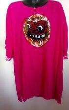 Pink Bali shirt XXL hippie shirt