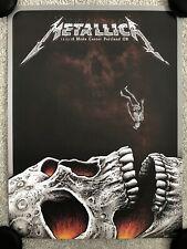 Metallica Portland Show Print Poster VIP Edition by EMEK - NT Mondo