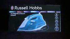 Russell Hobbs 23061 Supreme Steam Traditional Iron, 2400 W - White and Blue New