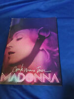 Madonna Confession 2006 world tour book Japan Like a virgin True blue Holiday
