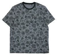 DKNY Men's Floral Graphic Print Short Sleeve Crew Neck T-Shirt NWT L Castlerock