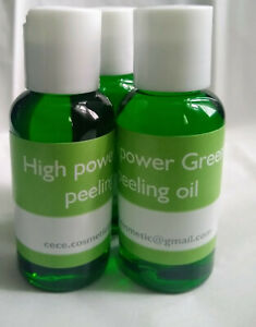 HIGH POWER GREEN PEELING OIL WHITENING LIGHTENING BRIGHTENING ( 80Ml ) 2.7 oz