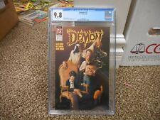 Demon 11 cgc 9.8 DC 1991 CLASSIC cover NM MINT WHITE pgs JLA Dark Alan Grant