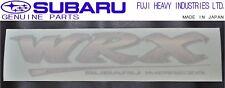 NEW!!SUBARU GC8 Impreza WRX STI Rear Trunk Decal Sticker Rare Item OEM JDM