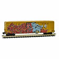 Railbox 50' Ribside National Tattoo Day Weathered/Graffiti MTL #02545561 N Scale