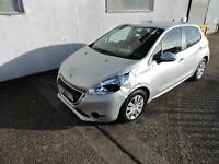 14 Peugeot 208 1.2 VTi Access+ Damaged Salvage Repairable £20 Tax 1 Owner! V5!