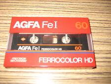 1 x AGFA  Ferrocolor HD FE I 60 Cassette für Walkman . OVP