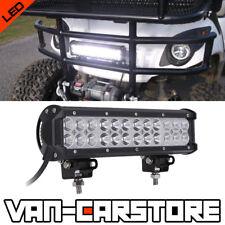 "FIT EZGO TXT Golf Cart Light 12"" Inch 72W LED Work Light Bar Spot Flood Fog Lamp"