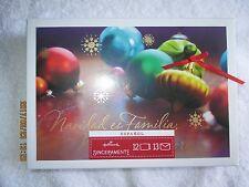 "Hallmark Christmas Espanol Cards 1 Box 12 Cards 13 Envelopes 6-7/8"" x 4-3/4"""