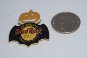 """Hard Rock Cafe : HRC Vintage Kuala Lumpur """"Jack O Lantern"""" Halloween '95 pin"""