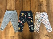 NEXT Baby Girl Joggers Trousers Bundle Age 9-12 Months