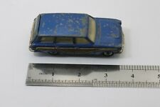VINTAGE 60's Corgi Toys #440 Ford Consul Cortina Super Estate Blue DAMAGED