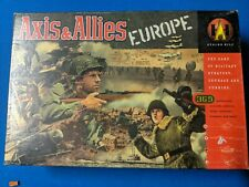AVALON HILL AXIS & ALLIES WAR GAME EUROPE EDITION..COMPLETE, EXCELLENT CONDITION