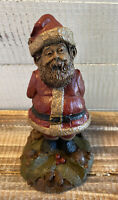 Vintage 1987 Santa Claus Gnome Figure by Tom Clark Christmas Santa Retired