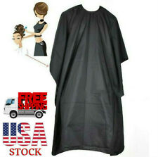 2Packs Cape Fit All Black Barber Hair Cutting Cape Style Shampoo Salon Equipment