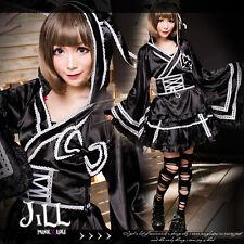 lolita anime cosplay Hatsune Miku project rabbit geisha glossy kimono FA292
