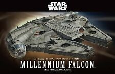 Bandai Hobby Star Wars Millennium Falcon 1/144 Scale Model Kit 202288 USA Seller