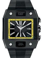 NEW Men's Caterpillar CAT Northcape N416121124 Black Rubber Analog Sport Watch