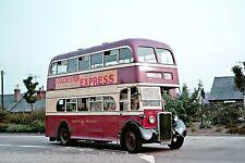 Colchester Corporation 55 KPU519 Bus Photo Ref P296