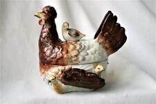 Vintage Staffordshire Hen & Chick Nest/Tureen -  Circa 1860