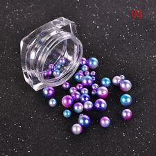 Nail Art Pearl Rhinestones Flatback Bead Pearl DIY Manicure Accessories Tools