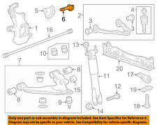 GM OEM Front Suspension-Adjust Bolt 11571269