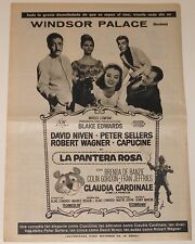 THE PINK PANTHER 1964 Spain Orig Full Page Film AD poster peter sellers capucine