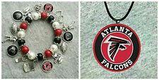 NFL Atlanta Falcons Bracelet and Necklace set