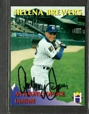 Rocky Mountain Motors #2 Anthony Iopoce Helena Brewers signed autograph (E48)