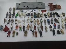 Huge Original Vintage Star Wars Figure Lot Mail Away Stand /some accessories