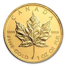 2008 Canada 1 oz Gold Maple Leaf BU - SKU #30104