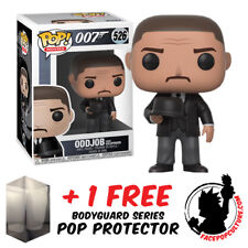 FUNKO POP JAMES BOND ODDJOB WITH THROWING HAT EXCLUSIVE + FREE POP PROTECTOR