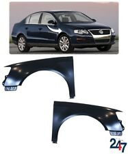 NEW VOLKSWAGEN PASSAT B6 2006-2010 FRONT PRIMED WING FENDER PAIR SET LEFT RIGHT