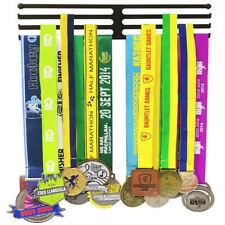 Three Rack Iron Medal Hanger Holder Organizer Sport Race Bib Marathon Running